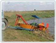 Прицеп ПТК 1,3 для транспортировки камышекосилки